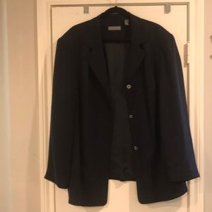 Blue Kate Hill lord and Taylor - Blazer - 20W